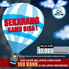 SEKARANG KAMU BISA ! (NEXIABET.COM) Tags: bebastransfer bni10ribu promobni transferantarbank mandiri bni bca danamon cimbniaga 100bankindonesia