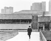 Snowy National Theatre ([J Z A] Photography) Tags: london uk eos30 lambeth delta400 ilford canon 35mm analog snow bw brutalism brutalist concrete ef35mm14liiusm jzaphotography monochrome nt royalnationaltheatre sirdenyslasdun attreecouk filmisnotdead grainisgood ishootfilm jzaphotographycouk staybrokeshootfilm