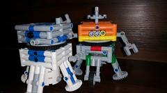 Dusty Duo (Daddy Ogre) Tags: starwars rebels starwarsrebels lego technic cubesat lander