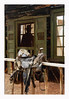 Wild West (philippe*) Tags: wildwest kanab utah saddle cowboy silhouette