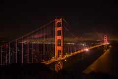 Her Grace and Beauty (Thomas Hawk) Tags: 75thbirthdaygoldengatebridge america batteryspencer california goldengatebridge marin marinheadlands sanfrancisco usa unitedstates unitedstatesofamerica bridge millvalley us fav10 fav25 fav50 fav100