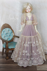 Victorian Sublime (AyuAna) Tags: bjd ball jointed doll dollfie ayuana design handmade ooak clothing clothes dress set outfit couture fashion historical victorian edwardian style slim msd mnf minifee fairyland size dim dollinmind benetia hybrid dolllegend body