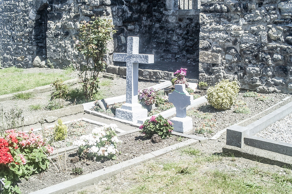 BACK IN JANUARY 2009 I VISITED THE OLD GRAVEYARD IN HOWTH [I HAD TO LEAVE BECAUSE I WAS ATTACKED BY GULLS]-135879