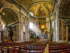 Piazza San Pietro (huntergol) Tags: bench goldenleaf travel eurotrip huntergol sonynex window