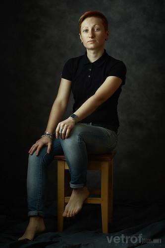 Липкевич Анжела. Классический портрет.