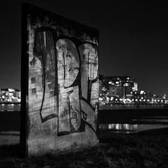 illuminated wall (my analog journey) Tags: 500cm ilfordfp4 sonar4150c mediumformat homedeveloped ilfosol3 recipe20 btw blackwhite filmisawesome cologne pollerwiesen kranhäuser rheinufer rhein longexposure blackandwhiteisitworthtofight citynights citylight reflections hasselblad deutz nightshot bnw movformatcom filmdev:recipe=11770 ilfordfp4125 ilfordilfosol3 film:brand=ilford film:name=ilfordfp4125 film:iso=100 developer:brand=ilford developer:name=ilfordilfosol3