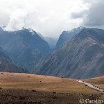 Sacred Valley landscape with quadbikes thumbnail
