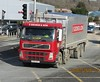 E George DX56 DFG at Newtown (joshhowells27) Tags: lorry volvo fm whitty egeorge bulk blower animal feed