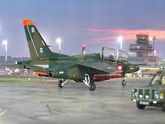 "1:72 Saab Sk 90 Ö, ""5H-SB"", 4th Jet Squadron, Flight Regiment 3, Österreichische Luftstreitkräfte (Austrian Air Force); Fliegerhorst Vogler (Linz-Hörsching), 2010 (Whif/modified Hasegawa kit) (dizzyfugu) Tags: saab sk 90 195ö österreich luftwaffe luftstreitkräfte austrian air force fliegerhorst vogler linz hörsching sk60 60 trainer advanced reconnaissance swedish sweden fictional aviation model kit modellbau whif whatif kawasaki t4 hasegawa conversion ral 6020 chromoxydgrün 7013 graubraun dizzyfugu"