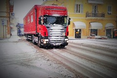 ice road (N I C K ....1 8 2 8) Tags: scania neve snow truck iceroad nick 1828