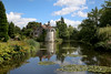 Scotney Castle, Kent, UK (crafty1tutu (Ann)) Tags: travel holiday 2017 unitedkingdom uk kent castle scotneycastle water reflections reflection tower turret sky garden tree trees crafty1tutu canon5dmkiii canon24105lserieslens anncameron