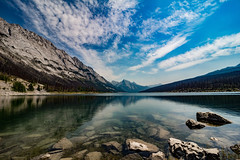 Canada Summer 2017 (Yuliksroas) Tags: lake canadian rockies rocky mountains canada 150 alberta jasper national park canon eos 650d mirror clouds stones water lakes forest