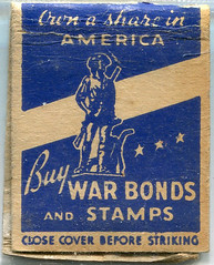Matchbooks (gill4kleuren - 17 ml views) Tags: intage old scan maps sigarets art matchbooks matchcover matches smoking text sign circle writing duty war bonds stamps