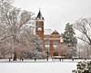 Tillman Hall, Winthrop University, Rock Hill, SC (stevem19) Tags: winthropuniversity tillmanhall college rockhillsc january2018snow nikond7000 18300mm winter southcarolinaschools stevemoorephotos