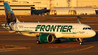 Frontier Airlines A320-251N N312FR @ STL