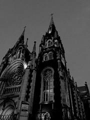 Church of Saints Olga and Elizabeth (ВалерийЭдуардович) Tags: чбфото чб sepia blackandwhite bnw снимокнаайфон храм львов lvivcity mobilephoto cathedral shotoniphonex shotoniphone ukraine church lviv