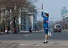 North Korean traffic security officer in blue uniform in the street, Pyongan Province, Pyongyang, North Korea (Eric Lafforgue) Tags: mg6084 adult adultsonly asia asian asianethnicity authority blue colourimage communism dailylife day dictatorship dprk horizontal northkorea northkorean oneperson onewomanonly outdoors people policeuniform pyongyang road sideview standing stick street trafficofficer trafficpolice trafficpoliceofficer woman women pyonganprovince 北朝鮮 북한 朝鮮民主主義人民共和国 조선 coreadelnorte coréedunord coréiadonorte coreiadonorte 조선민주주의인민공화국 เกาหลีเหนือ קוריאההצפונית koreapółnocna koreautara kuzeykore nordkorea північнакорея севернакореја севернакорея severníkorea βόρειακορέα