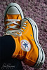 a flash of orange (what rough beast) Tags: mylittlelife shoes chucks converseallstar trainers orange stuff