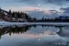 Supermoon at Banff – 3 (Roy Prasad) Tags: banff lakelouise canada alberta prasad royprasad sony a7rm3 a9 a7r winter snow travel