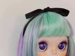 Gone (Pliash) Tags: blythe tbl cute kawaii galaxy eyes eyechips big bigeyes head bighead japanese asian fashion dolls goth