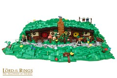 Bagshot Row 3 (Sam´s Home) (-Balbo-) Tags: rosiecotton lego hobbit lordoftherings shire auenland sam home house hobbingen hobbiton exploring bagshot row bauwerk moc creation balbo tolkien lotr