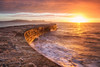Golden Cobb (Rich Walker75) Tags: thecobb lymeregis dorset seascape sunrise seascapes landscape landscapes landscapephotography landmark landmarks sea ocean water waves sky cloud clouds dawn morning england greatbritain canon eos100d efs1585mmisusm eos
