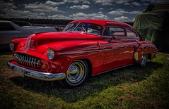 A dream in red. (Peter's HDR hobby pictures) Tags: petershdrstudio hdr classiccar oldtimer vintage klassiker customcar car auto dreamcar