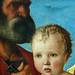 BELLINI Giovanni,1487 - La Vierge et l'Enfant entre Saint Pierre et Saint Sébastien (Louvre) - Detail 25