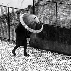 Rain and wind (Pedro Nogueira Photography) Tags: pedronogueira pedronogueiraphotography photography blackandwhite monochrome streetphotography people rain