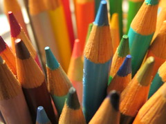 Color your world, brighten your life. (vickilw) Tags: colorpencils pencil color 7daysofshooting week34 multiples colourfulthursday 6ws officestationeryitems 1012018 101118