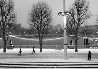 Winter, Southbank.