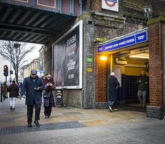 Shepherd's Bush Market Station, Uxbridge Road (London Less Travelled) Tags: england britain london uk unitedkingdom city street urban shepherdsbush market station tube underground entrance rail railway metro publictransport hammersmith fulham