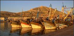 boats (Jan Herremans) Tags: africa morocco agadir boats fishing seascape landscape
