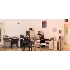 Main exhibition room at MusIF - Photo by @luisacivardi (Museo dell'Informatica Funzionante) Tags: musif miai freaknet dyneorg trasformatorio