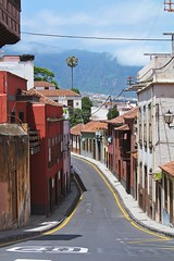 old street :) (green_lover (your COMMENTS are welcome :))) Tags: street laorotava tenerife canaryislands spain town buildings architecture vanishingpoint travels friendlychallenges