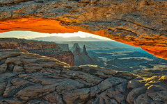 Mesa Arch Sunrise (jed52400) Tags: mesaarch sunrise morning canyonlands utah monticello landscape hdr