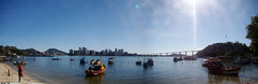 Prainha (DD Sardi) Tags: prainha baía de vitória vila vela es espírito santo brasil brazil sol ensolarado sun sunny day dia barcos boats fishing pesqueiros pescadores