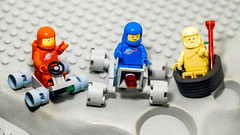 Super FebRovero Kart (fe2cruz) Tags: bumperkart kart racing lego space classic blue yellow red spaceman crawler rover moon crater febrovery tamron adaptall2 sp 90mm f25 α7r a7r alpha
