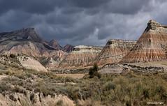 Cabezo del Fraile (Anne.Berger) Tags: cabezodelfraile bardenasreales bardenasnegras spanien spain landscape halbwüste semidesert erosion