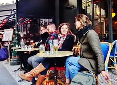 2018-02-17  Paris - Le cinquante-huit - 58 rue Montorgueil (P.K. - Paris) Tags: paris février 2018 february people candid street café terrasse terrace