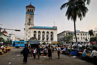 Port, Yangon