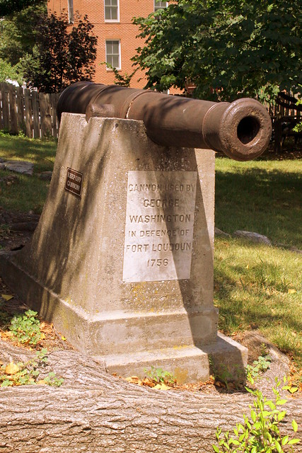 Cannon used by George Washington