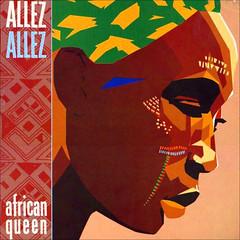 1981_Allez_Allez_African_Queen_1981 (Marc Wathieu) Tags: rock pop vinyl cover record sleeve music belgium coverart belgique pochette cd indie artwork vinylcover sleevedesign belgië