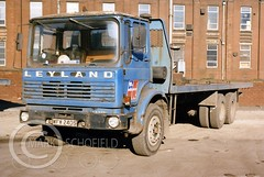 WFW240S LEYLAND BISON (Mark Schofield @ JB Schofield) Tags: jim taylor transport road commercial vehicle lorry truck wagon tipper tanker artic eight wheeler haulage contractor bulk haulier tractor unit
