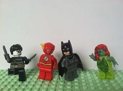 Trade Yah? (Gallisuchus) Tags: custom lego dc superhero supervillain minifigures murmur flash rogue poison ivy batman