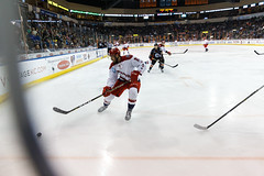 "Kansas City Mavericks vs. Allen Americans, February 23, 2018, Silverstein Eye Centers Arena, Independence, Missouri.  Photo: © John Howe / Howe Creative Photography, all rights reserved 2018 • <a style=""font-size:0.8em;"" href=""http://www.flickr.com/photos/134016632@N02/38690086350/"" target=""_blank"">View on Flickr</a>"