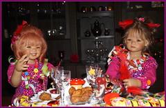Sanrike mit Milina ... (Kindergartenkinder) Tags: silvester kindergartenkinder annette himstedt dolls milina sanrike
