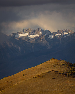 Palisades Sierra Nevada Storm