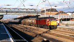 10/12/1997 - Doncaster, South Yorkshire. (53A Models) Tags: ews class47 47627 diesel freight doncaster southyorkshire train railway locomotive railroad