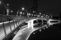 Bridge (frank.gronau) Tags: building licht light brücke bridge singapur singapore white black weis schwarz alpha sony gronau frank